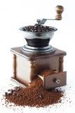 Koffie met molen Royalty-vrije Stock Afbeeldingen