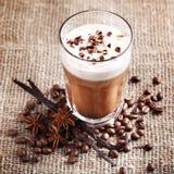 Koffie met room Royalty-vrije Stock Foto's