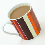 Koffie met Room Royalty-vrije Stock Foto