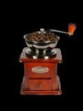 Koffie-molen stock foto's