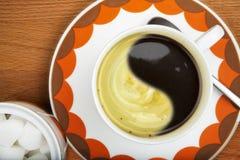 Koffie ole Stock Afbeeldingen