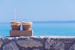 Koffie om te gaan Stock Foto's