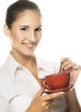 Koffie-onderbreking Royalty-vrije Stock Foto's