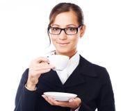 Koffie-onderbreking Stock Afbeelding