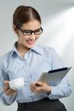 Koffie-onderbreking Stock Fotografie