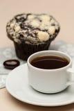 Koffie op de lijst Stock Afbeeldingen
