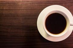Koffie op lijst Stock Afbeeldingen