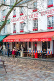 Koffie in Parijs Stock Afbeelding