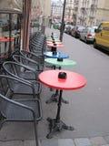 Koffie in Parijs stock afbeeldingen