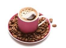 Koffie-reeks royalty-vrije stock foto