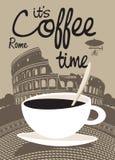 Koffie Rome Royalty-vrije Stock Foto's