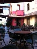 Koffie in Tbilisi Royalty-vrije Stock Foto