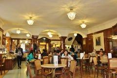Koffie Tomaselli, Salzburg Royalty-vrije Stock Foto's
