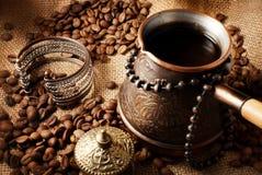 Koffie Turk. Royalty-vrije Stock Fotografie