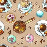 Koffie uw voor ontwerp Royalty-vrije Stock Foto's