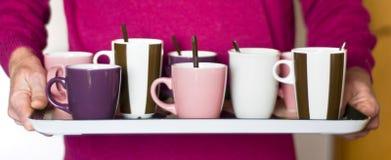 Koffie voor de collega's Stock Afbeelding