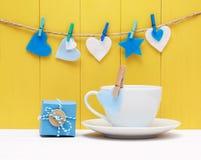 Koffie voor gehouden van of een liefje Royalty-vrije Stock Foto