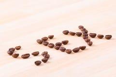 Koffie voor geslacht Royalty-vrije Stock Foto's