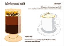 Koffie voor gourmetsdeel IV Stock Foto's