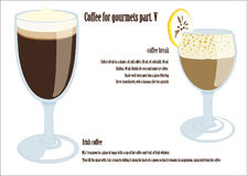 Koffie voor gourmetsdeel V Royalty-vrije Stock Foto's