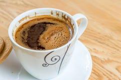 Koffie voor onderbreking Stock Afbeeldingen