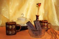 Koffie voor twee Stock Afbeeldingen