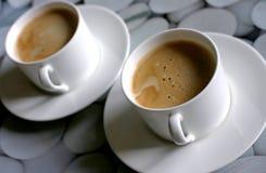 Koffie voor twee stock foto's