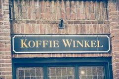 Koffie Winkel signage