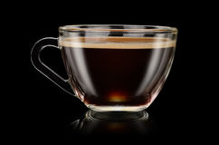 koffieamericano Stock Afbeelding