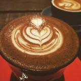 Koffieart. Royalty-vrije Stock Fotografie
