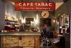 Koffiebar in Rome Stock Foto