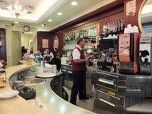 Koffiebar in Rome Royalty-vrije Stock Fotografie