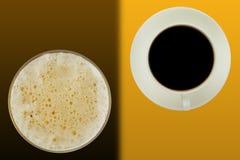 Koffiebarsamenvatting Royalty-vrije Stock Foto