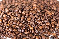 Koffiebonen, die ruiken Stock Foto