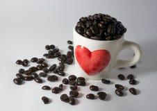 Koffieboon royalty-vrije stock foto's