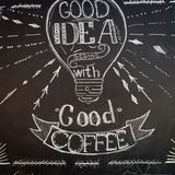 Koffiebord stock afbeeldingen