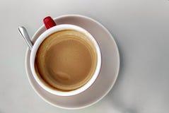 Koffiebovenkant stock fotografie