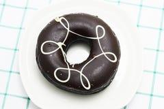 Koffiedoughnut Royalty-vrije Stock Afbeeldingen