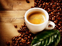 Koffieespresso Royalty-vrije Stock Foto