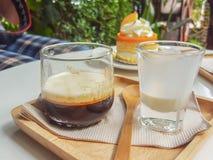 Koffiegelei Stock Afbeelding