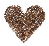 Koffiehart Stock Afbeeldingen