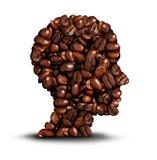 Koffiehoofd stock illustratie