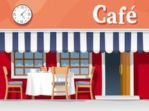 Koffiehuis Royalty-vrije Stock Afbeeldingen