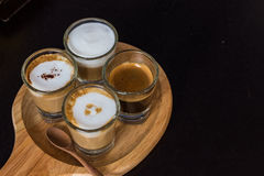 Koffieinzameling Royalty-vrije Stock Fotografie
