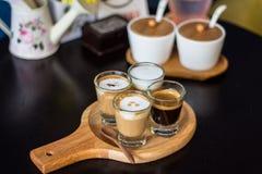 Koffieinzameling Royalty-vrije Stock Afbeelding