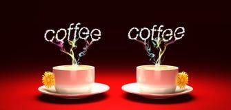 Koffiekoffie Stock Afbeeldingen