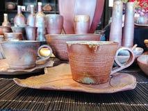 Koffiekop met de hand gemaakt van Japan royalty-vrije stock fotografie
