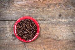 Koffiekop met koekje Stock Foto's