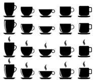 Koffiekoppen Royalty-vrije Stock Foto