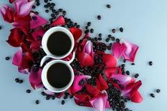 Koffieliefde royalty-vrije stock afbeeldingen